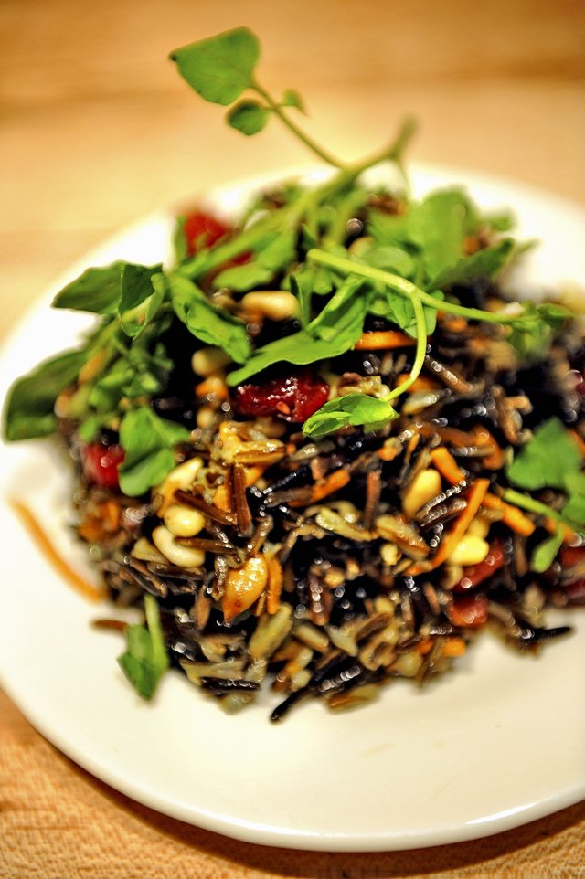 Native american food coyotecooks blog wild rice salad forumfinder Gallery